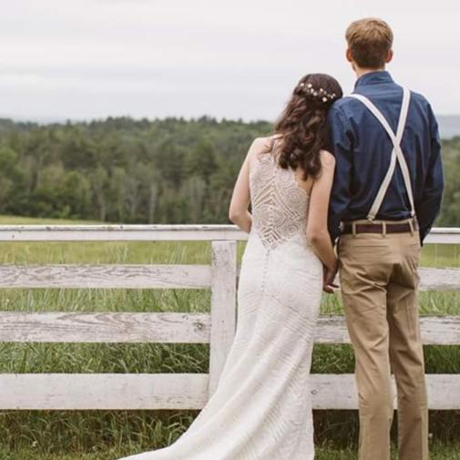 Weddings At Canterbury Shaker Village Couple
