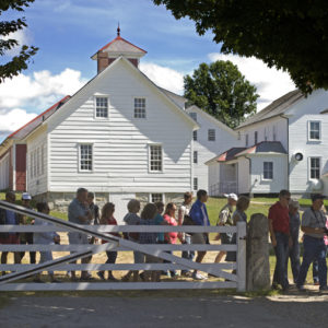 Outdoor Village Tours At Canterbury Shaker Village