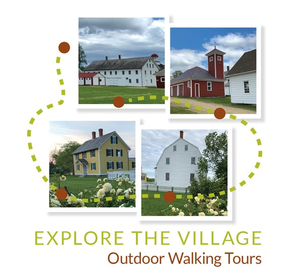 Icon for Outdoor Walking Tours of Canterbury Shaker Village